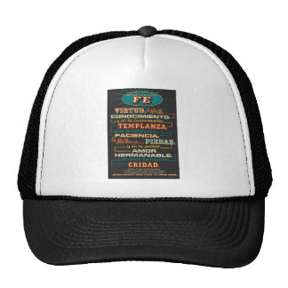 Add to Your Faith  Spanish Bible Verses Hat