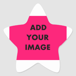 ADD UPLOAD PHOTO FOR QUICK EASY CHRISTMAS GIFT STAR STICKER