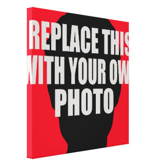 add / upload your own photo canvas print