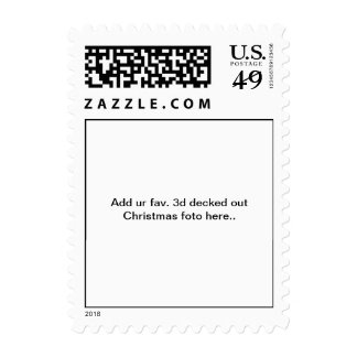 Add uR 3d fav.deck'd out Christmas foto here stamp