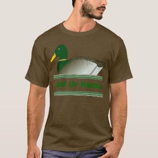 Add ur Name Mallard Duck Club T-Shirt