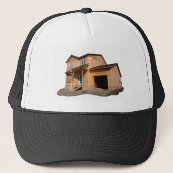 Add You Logo And Text Here Trucker Hat by CREATIVEforBUSINESS at Zazzle