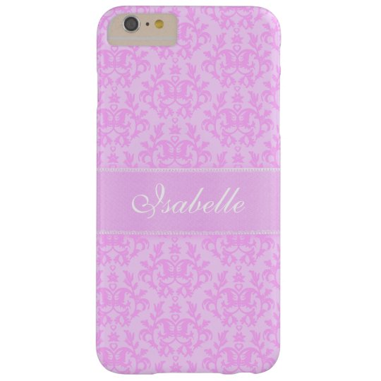 Add you own name damask lilac case