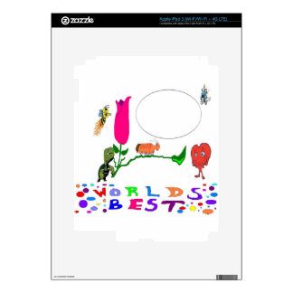 Add You OWN Text iPad 3 Decals