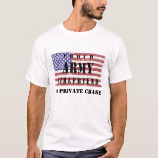 Add Your Boyfriend's Name Proud Army Girlfriend Sh T-Shirt