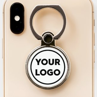 Add Your Business Company Logo Phone Ring Stand