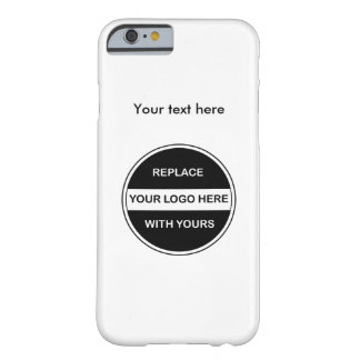 Add Your Business Logo Barely There iPhone 6 Case