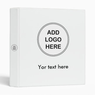 Add Your Business Logo Binder Template