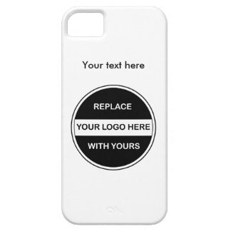 Add Your Business Logo iPhone 5 Covers