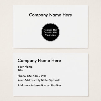 Add Your Business Logo Template Business Card