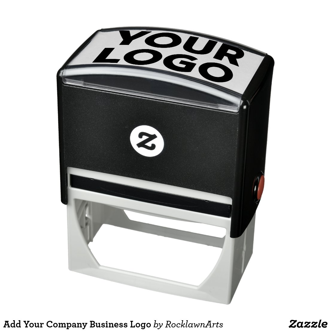 Add Your Company Business Logo Self-inking Stamp