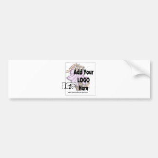 Add Your Company LOGO as Client or Employee Gifts Bumper Sticker