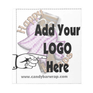 Add Your Company LOGO as Client or Employee Gifts Notepad