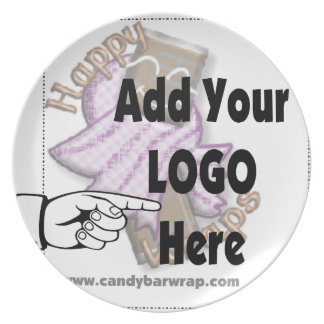 Add Your Company LOGO as Client or Employee Gifts Plate