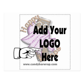 Add Your Company LOGO as Client or Employee Gifts Postcard