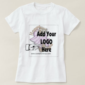 Add Your Company LOGO as Client or Employee Gifts T-Shirt