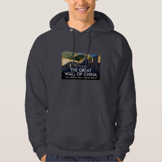 Add Your Date to China Great Wall Commemorative Sweatshirt