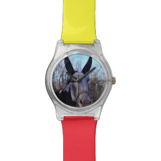 Add YOUR DONKEY PHOTO Watch Template