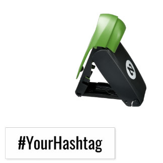 Add your favorite Hashtag Pocket Stamp