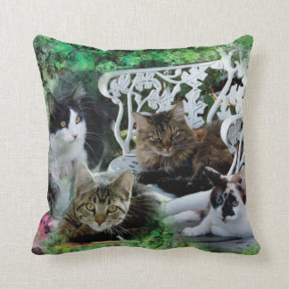 Add your favorite pet photo pillow