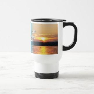 Add your favorite photo / message / logo travel mug