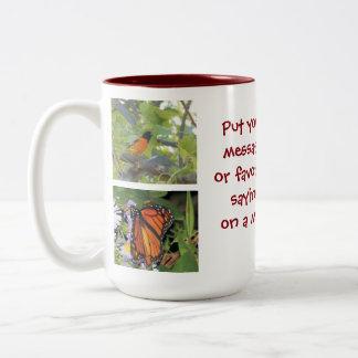Add your favorite photos / message mug