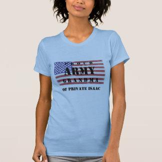 Add Your Grandchild's Name Proud Army Grandma Shir T-Shirt