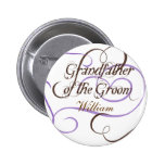 Add Your Grandfather's Name Wedding Button