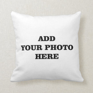 Add your image here DIY Throw Pillow