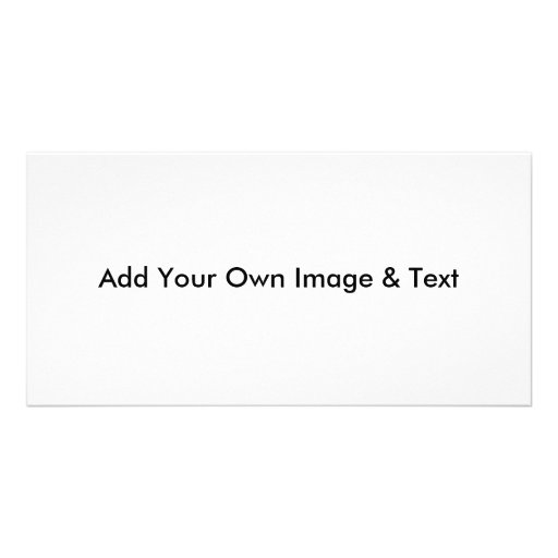 Add Your Image Photo Card