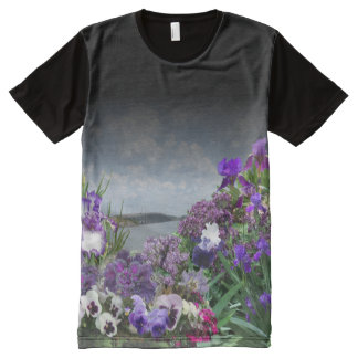 add your image Shades of purple t-shirt 2
