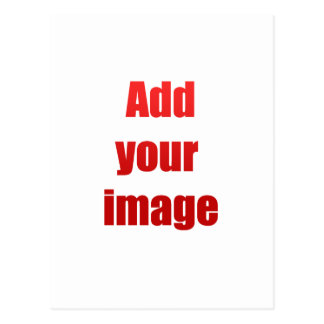 Add your image to customize postcard