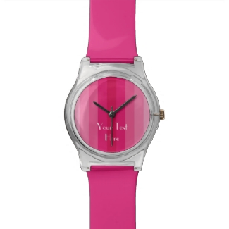 Add Your Image, Your Text, Custom Watch FUN