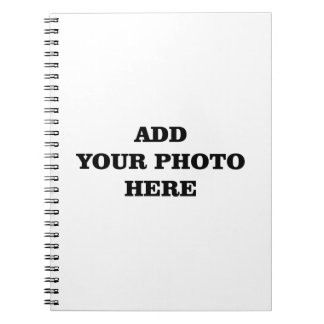 Add Your Images Here Christmas DIY Photo Notebook