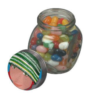 Add Your Instagram Photo Jelly Belly™ Candy Jar Glass Jar