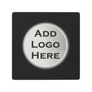 Add Your Logo Corporate Gift Metal Photo Print