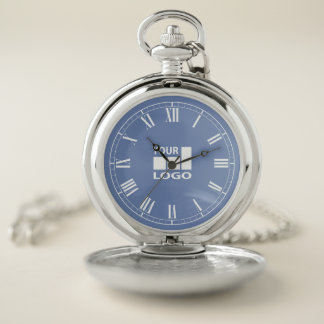 Add Your Logo Custom Color Template Pocket Watch