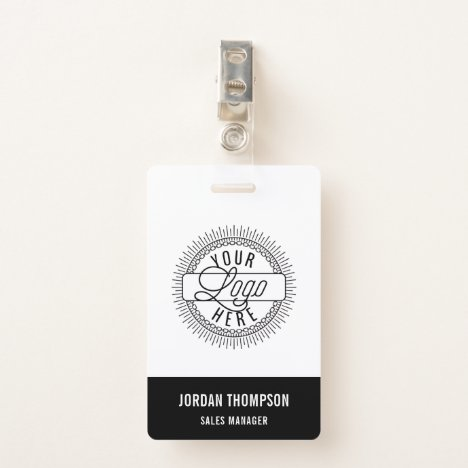 Add Your Logo | Custom Name Badge