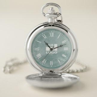 Add Your Logo Custom Template Pocket Watch