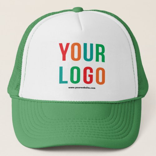 Add Your Logo No Minimum Promotional Logo Trucker Hat