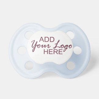 add your logo pacifier