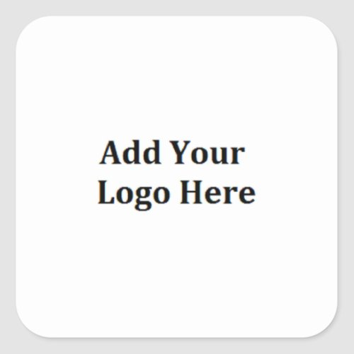 Add Your Logo Personalize Business Logo Stickers