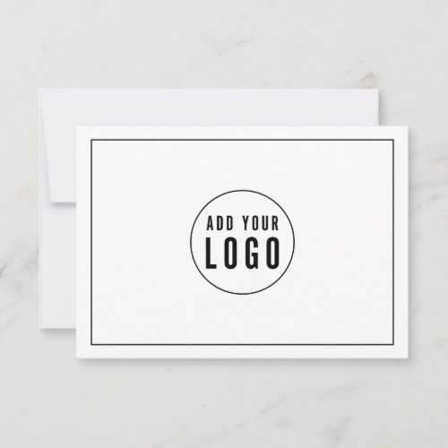 Add Your Logo with Black Border Gift Certificate