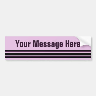 Add Your Message Bumper Sticker