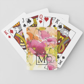 Add Your Monogram | Pattys Plum Playing Cards