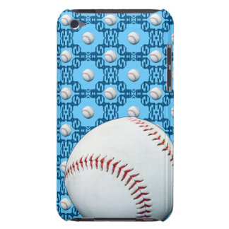 Add Your Name Baseball Motif Ipod Touch Case