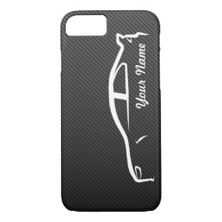 Add your name - Evolution X with Faux Carbon Fiber iPhone 8/7 Case