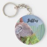 Add Your Name Koala Keychain