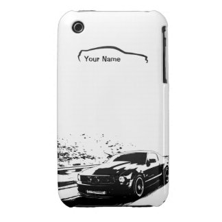 """""""add your name"""" Mustang Rolling shot iPhone 3 Cover"""