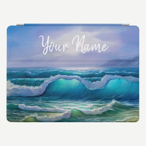 Add Your Name Or Text iPad Pro Cover